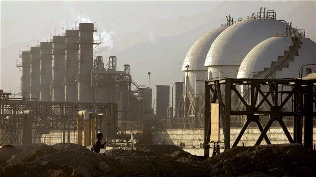 Raffinerie d'Assalouyeh en Iran