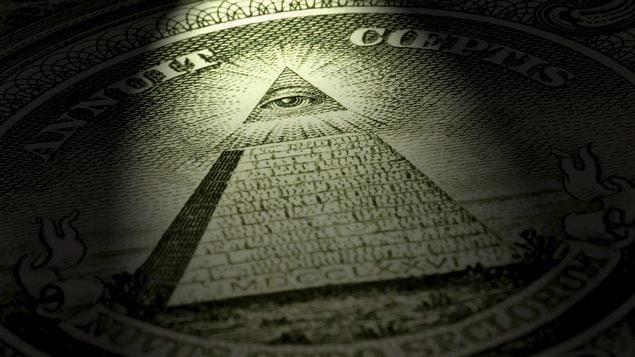 L'oeil de la Providence présent sur le billet d'un dollar américain a été invoqué comme preuve d'un complot mondial maçonnique.     Photo : iStock