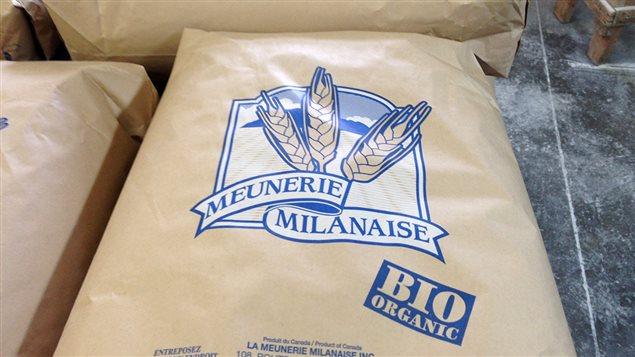 Sac de farine de la Meunerie Milanaise