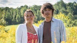 Anne-Valérie Schmidt et Anicet Desrochers