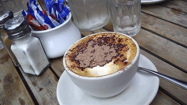Un café latte