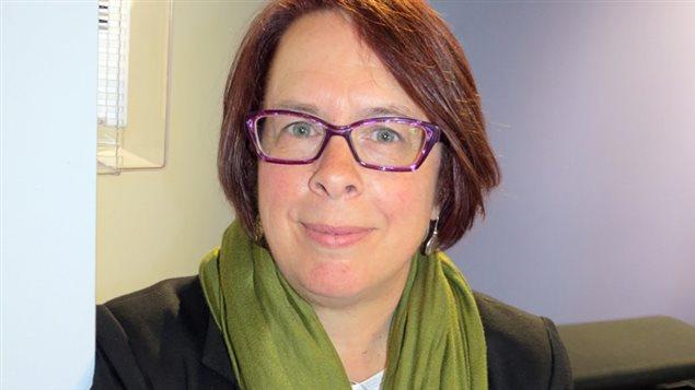 Sylviane Lanthier,  présidente de la FCFA