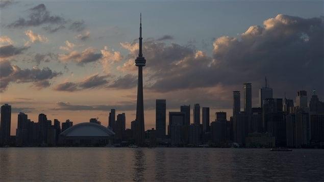 Le centre-ville de Toronto