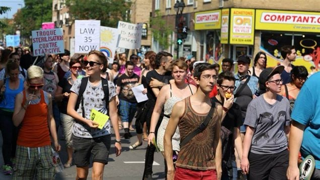 Quebec, una de las primeras provincias en elaborar una ley de identidad trans, quedó relegada respecto a otras.
