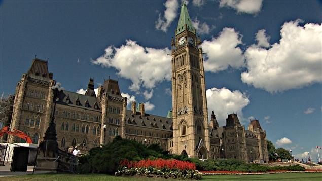 مبنى البرلمان الكندي في أوتاوا (أرشيف).