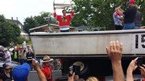 La Coupe Stanley de passage àl'Île-du-Prince-Édouard