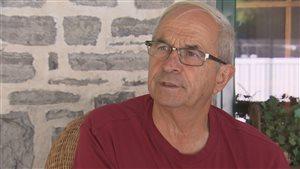 Clermont Morin était sergent en 1974 au moment de la tragédie qui a fait six morts à la base de Valcartier.
