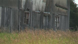 Une grange abandonnée