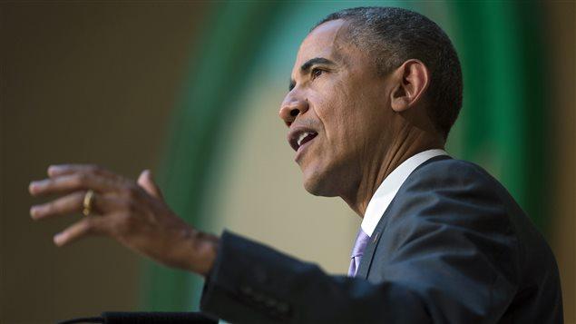 Le président Barack Obama s'adresse à l'Union africaine.