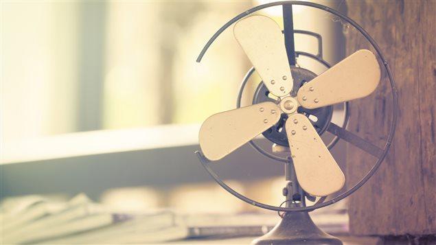 Une ventilateur vintage