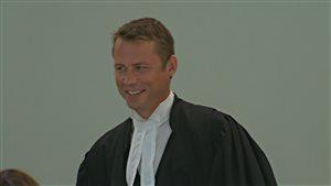 Le procureur de la Couronne, Me Jean-Roch Parent