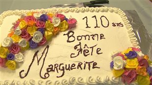 Une résidente de Joliette, Marguerite Stagère Nerny célèbre ses 110 ans.