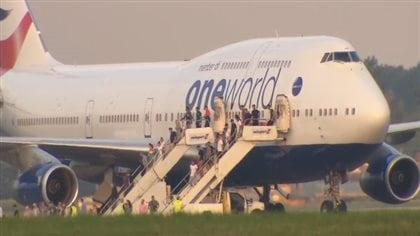 Un avion de British Airways s'est posé d'urgence à Montréal-Trudeau