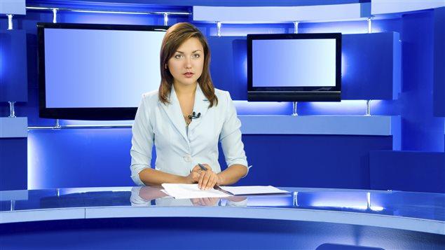 Une présentatrice de nouvelles