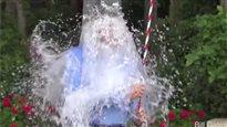 Le défi du seau d'eau glacée,un succès sur toute la ligne