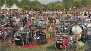 À voir: 1000 musiciens interprètent les Foo Fighters