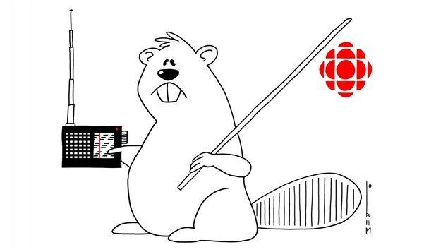 Un regalo de nuestro amigo y gran caricaturista colombiano Betto, cuando cesaron las transmisiones de Radio Canadá Internacional por las Ondas Cortas.