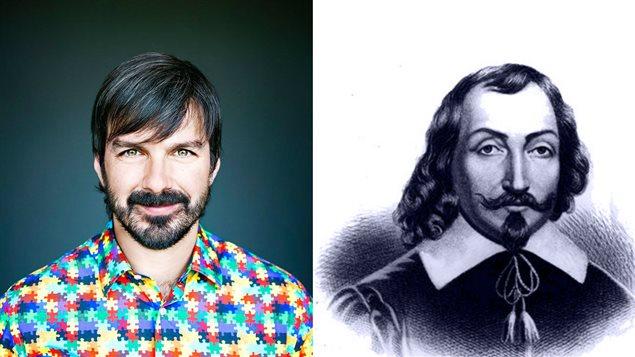 Damien Robitaille et Samuel de Champlain
