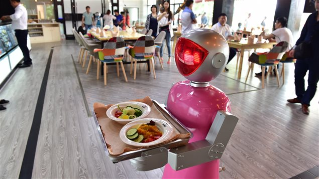 Un robot-serveur