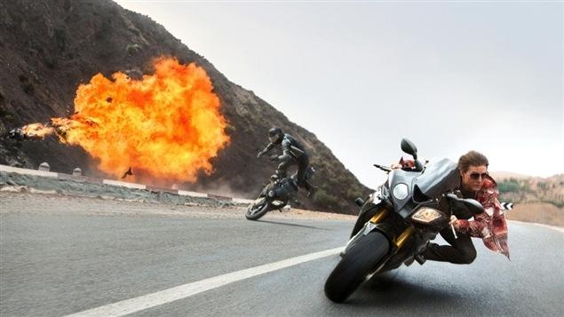 Une scène de <em>Mission Impossible 5 – La nation rogue</em>