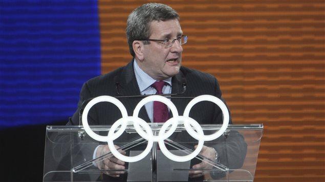 Régis Labeaume s'est rendu à Lausanne pour rencontrer le Comité olympique.