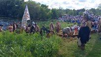 Célébrations du 400e : Champlain débarque à Penetanguishene