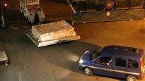 Le débris d'avion trouvé à l'île de la Réunion est arrivé à Toulouse
