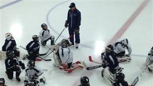 Apprendre le hockey avec Sidney Crosby