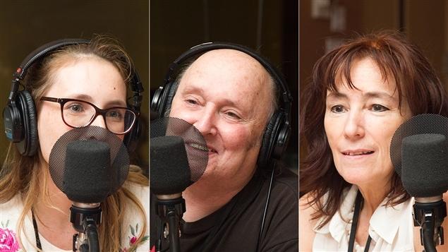 Virginie Francoeur, Lucien Francoeur et Claudine Bertrand