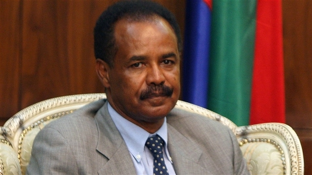 Le président de l'Érythrée, Issaias Afeworki