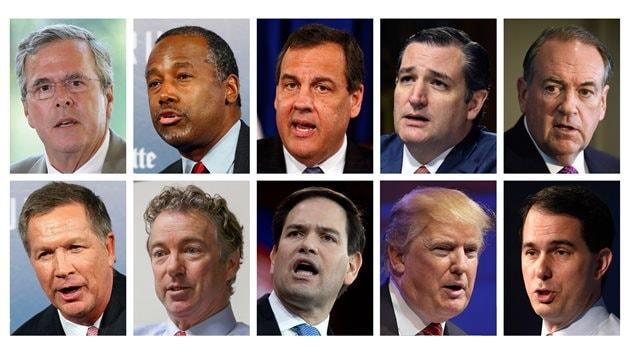 Les 10 candidats à l'investiture du Parti républicain qui participeront au débat de Fox