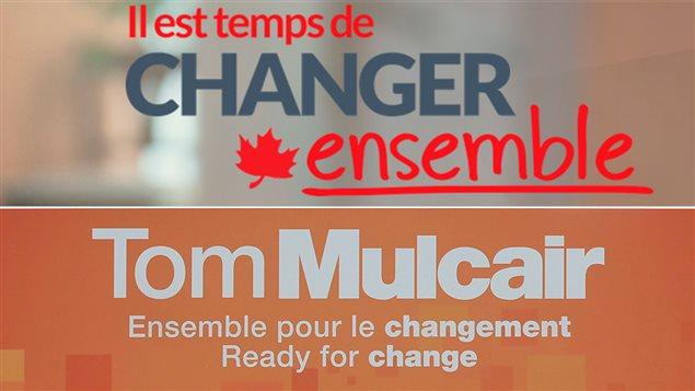 Slogans du Parti libéral du Canada et du NPD