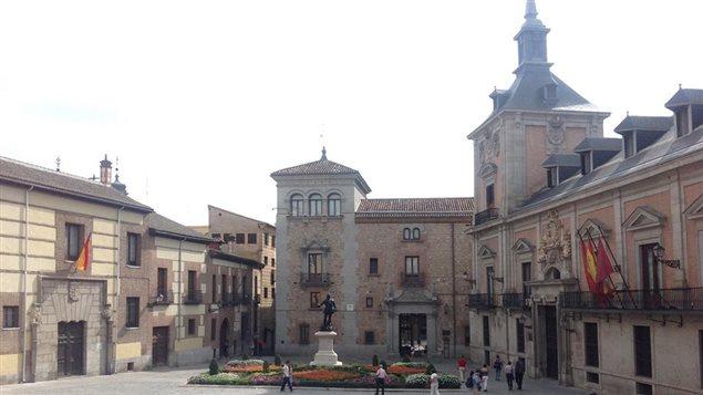 Un édifice de Madrid