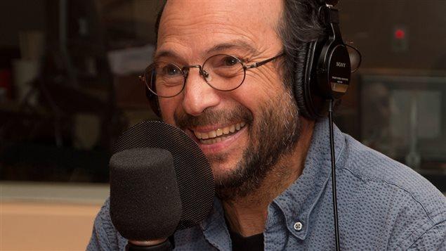 Le chanteur Michel Rivard