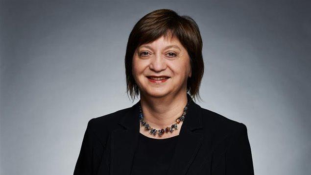 Suzanne Bossé, directrice générale de la Fédération des communuatés fancophones et acadienne du Canada