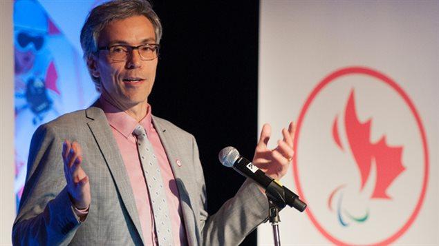 Dr Gaétan Tardif, président du Comité paralympique canadien.
