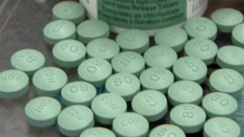 Police in an aboriginal community in Alberta province believe organized crime groups are pushing what looks like Oxycodone pills but which may in fact contain fentanyl.