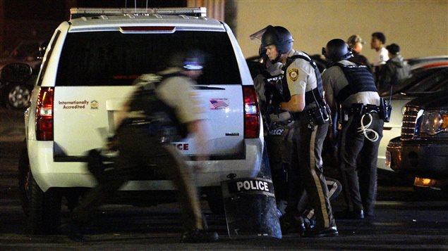 Fusillade lors d'une manifestation à Ferguson