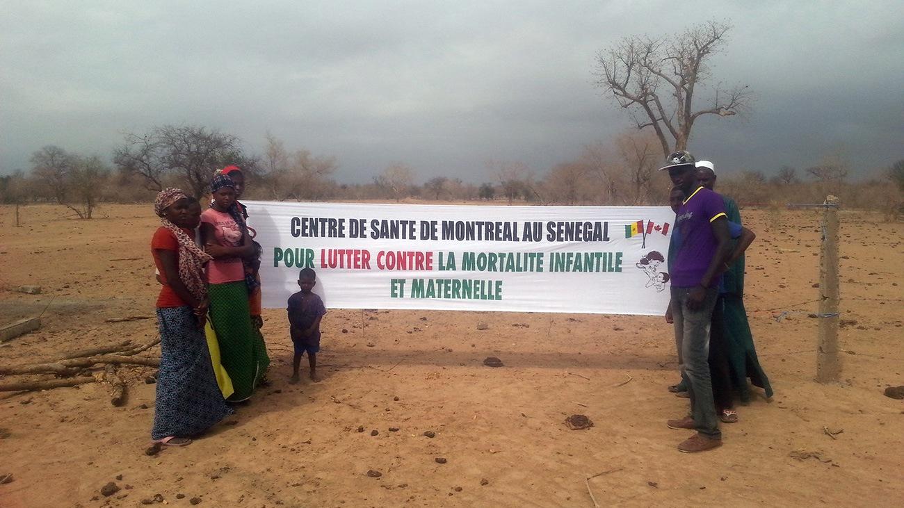 À long terme, les villageois voudraient construire un dispensaire, car l'accès aux soins de santé est difficile dans ce secteur rural du Sénégal.