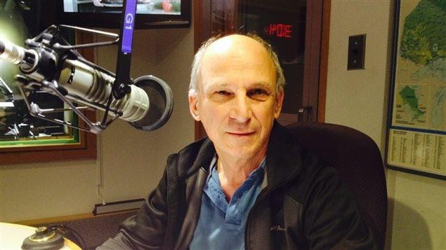 Henri Pallard, professeur chercheur, à l'université Laurentienne de Sudbury.