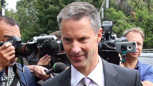 L'ancien chef de cabinet de Stephen Harper, Nigel Wright