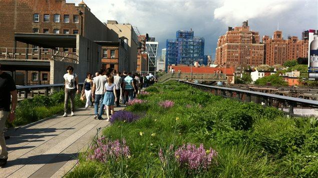 La High Line à Manhattan