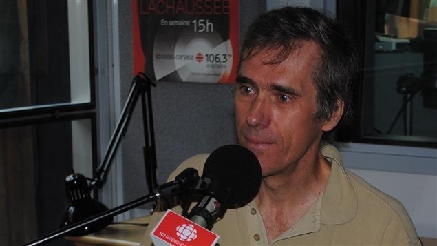 Pierre Marcotte, ingénieur en robotique, professeur de yoga et fondateur de l'entreprise Aranatha