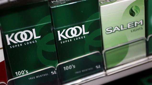 Les cigarettiers contestent l'interdiction des produits mentholés qui est considérée dans le projet de loi 44.
