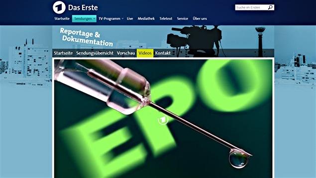 Le documentaire de la télévision allemande ARD sur le dopage en athlétisme
