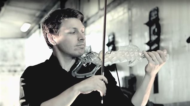 Violon 3D varius de Laurent Bernadac