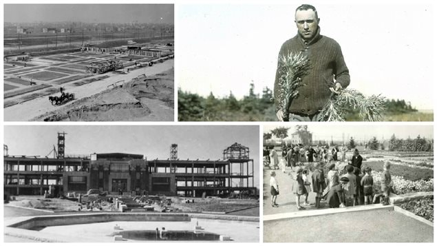 Photos d'archives du jardin botanique et de Conrad Kirouac, devenu le frère Marie-Victorin en entrant dans la religion.