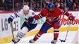 Morgan Rielly des Maple Leafs et P.K. Subban du Canadien