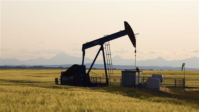 Une exploitation pétrolière près de Calgary