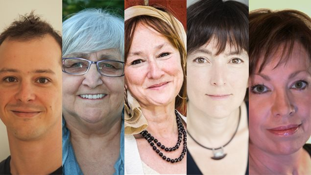 Simon Brousseau, Anne De Rome, Chantal Garand, Natalie Laguë et Martine Noël-Maw